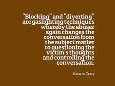 Narcissistic Abuse: Echo Recovery - Gaslighting - Invalidation - Community - Google+