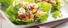 Salada De Macarrão Com Atum E Molho De Iogurte