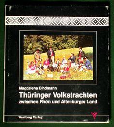 Book German Folk Costume Thuringia Regional Fashion Ethnic Dress Jewelry Germany   eBay