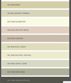 my favorite paint colors from sherwin williams colormix 2016 | house