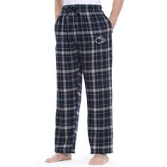 Men's Penn State Nittany Lions Ultimate Flannel Pants, Blue (Navy)