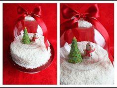 ▶ Weihnachts Schneekugel Raffaello Torte | Danis Cupcakes - YouTube