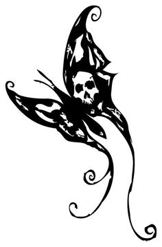 3456f4dd1d365 Butterfly Tattoo by hexxxer.deviantart.com on @deviantART Butterfly Tattoo  Designs, Butterfly