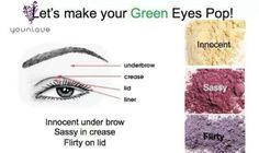 Lets make your green eyes pop! Www.youniqueproducts.com/Tammys8