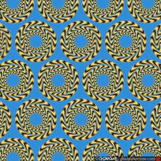 Rotating Rings by Gianni Sarcone - Optical Illusion Image Gallery #65