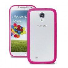 Forro Samsung Galaxy S4 Puro Clear Rosa  Bs.F. 142,89