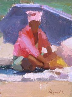 beach figure by Camille Przewodek
