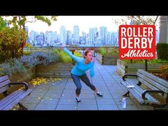 No Hands Derby Workout | Roller Derby Athletics - YouTube