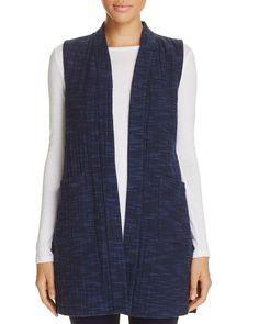 Eileen Fisher Open-Front Kimono Vest