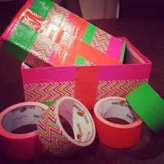 SEPTEMBER: We love how creative you all get with your #shoebox gifts, like this box that was wrapped in colorful duct tape! How do you decorate your shoebox gifts? #operationchristmaschild