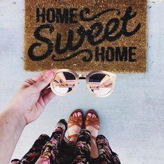 Home sweet home @target @freepeople @stevemadden Photo via www.instagram.com/chelceytate
