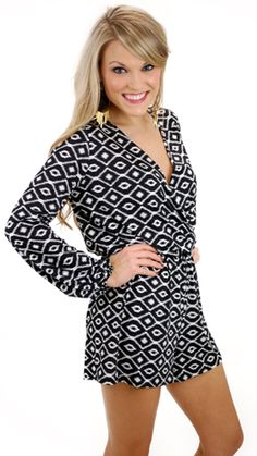 Lady Luck Romper :: NEW ARRIVALS :: The Blue Door Boutique