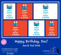 Mini Albums, Dr Seuss, Project Life, Scrapbook Cards, Bookmarks, Books To Read, Happy Birthday, Calm, Printables