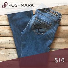 Express denim Boot cut , short inseam Express Jeans Boot Cut