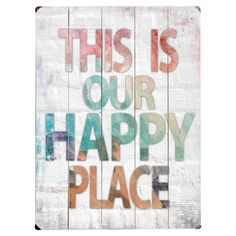 A brilliant housewarming gift, this wooden wall plaque adds an inspiring touch to any scheme.    Product: Wall art...