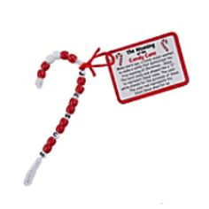 Check this out on our store  Meaning Of The Candy Cane Jesus Ornament Craft Kit  - Makes 12 Check it out here! [product-url