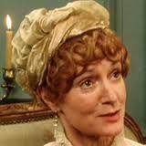 Joanna David plays Aunt Gardiner in bbc's p and p 1995