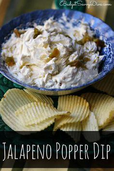 Jalapeno Popper Dip Recipe