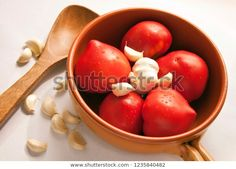 Find Tomato Garlic Inside Clay Pot Wooden stock images in HD and millions of other royalty-free stock photos, illustrations and vectors in the Shutterstock collection. Thousands of new, high-quality pictures added every day. Clay Pots, Vectors, Garlic, Photo Editing, Royalty Free Stock Photos, Illustrations, Vegetables, Pictures, Photography
