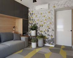 Balkonda dinlendirici deniz renkli şezlongla, yatak odasında renk ve ışık babaları ile, açık kat planı yaşam alanınyla gerçekten çok yaşanılabilir duruyor. #architecture #mimari #house #homedecor #home #design #furniture #style #livingroom #living #interiordesign #interiors