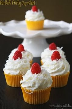 Perfect party cupcakes