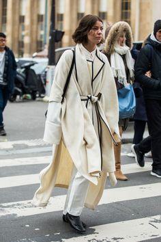 Street style a la Fashion Week automne-hiver 2018-2019 de Paris 166 #parisfashionweeks,