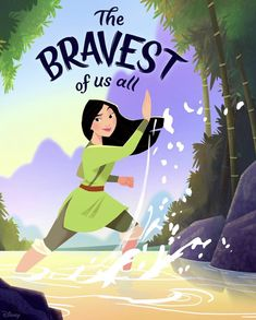The Bravest Mulan Disney Pixar, Disney Nerd, Arte Disney, Disney Fan Art, Disney Animation, Disney And Dreamworks, Animation Film, Disney Love, Disney Magic