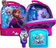 Disneyland Disney Survival Kit Ultimate Frozen Lunch Box and Lunch Essentials and with Handy Clip on @ niftywarehouse.com #NiftyWarehouse #Frozen #FrozenMovie #Animated #Movies #Kids