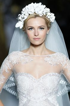 Pronovias 2014 Barcelona Bridal Week Photo by Pablo Latorre for Vogue