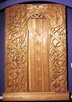 Stave Churches on Pinterest | Norway, Church and Wood Carvings