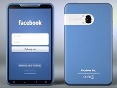 Facebook Phone (concept, rumor)   mobile phone, smartphone, gadget