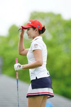 Women Golf, Ladies Golf, Sexy Golf, Golf Wear, Lpga, Golf Outfit, Korean Women, Perfect Body, Cool Pictures