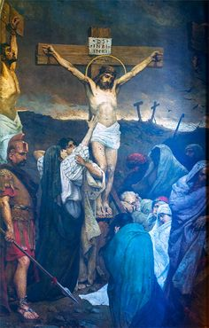 The Crucifixion of Jesus Christ - Wilhelm Kotarbinski
