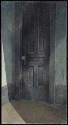 "Marvin Cone, ""Black Door"", 1953"