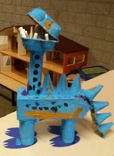 Dinosaur Activities, Dinosaur Crafts, Craft Activities, Projects For Kids, Diy For Kids, Crafts For Kids, Craft Projects, Dino 3d, Cardboard Crafts