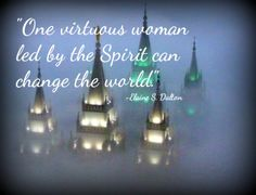 LDS Elaine S. Dalton Virtue Spirit World