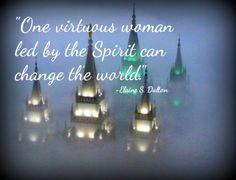 LDS Elaine S. Dalton Virtue Spirit World