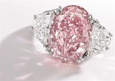 Sothebys Global Jewelry Sales Hit USD 460.5 Million In 2012 including this 6.54 carat, internally flawless pink diamond ring.