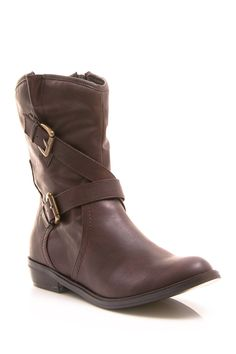 Concord Short Buckle Boot <3