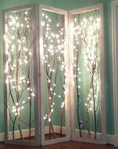 Lighted Shoji Screen