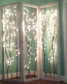 Lighted Shoji Screen