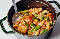 Easy One-Pot Chicken Teriyaki with Vegetables and Rice Recipe. This weeknight dinner is a piece of cake to make and will definitely be newcomer to your rotation of quick and easy meals and recipes. Great if you're looking for ideas for feeding families; kids and adults love this!