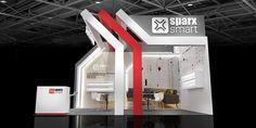 is Behance – 展覽 – Exhibition Stand Exhibition Stall, Exhibition Stand Design, Exibition Design, Virtual Studio, Pharmacy Design, Small Buildings, Island Design, Gate Design, Locker Storage