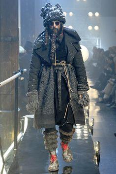 Galliano Men's Wear 2011 inspired by Russian Ballet
