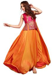Traditional Indian Dress collection is incomplete without Gorgeous Lehenga & saree collection.