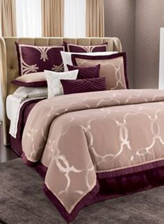 Jennifer Lopez bedding collection Astor Place Bedding Coordinates
