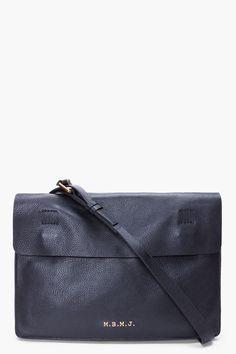 Marc By Marc Jacobs Black Werdie Boy Portfolio Bag by SSense