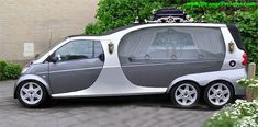 "A smart car hearse. Yes- this belongs under ""nursing"" considering my specialty. Smart Auto, Smart Car, Weird Cars, Cool Cars, Automobile, Flower Car, Smart Fortwo, Pt Cruiser, Transporter"