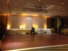 Nicpon Productions is a Chicago Wedding DJ, event lighting and décor company that specializes in elegant, contemporary wedding and social events. Head Table Backdrop, Fabric Backdrop, Fabric Decor, Dj Packages, Backdrops, Chandelier, Ceiling Lights, Home Decor, Candelabra