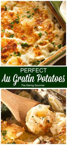PERFECT Au Gratin Potatoes